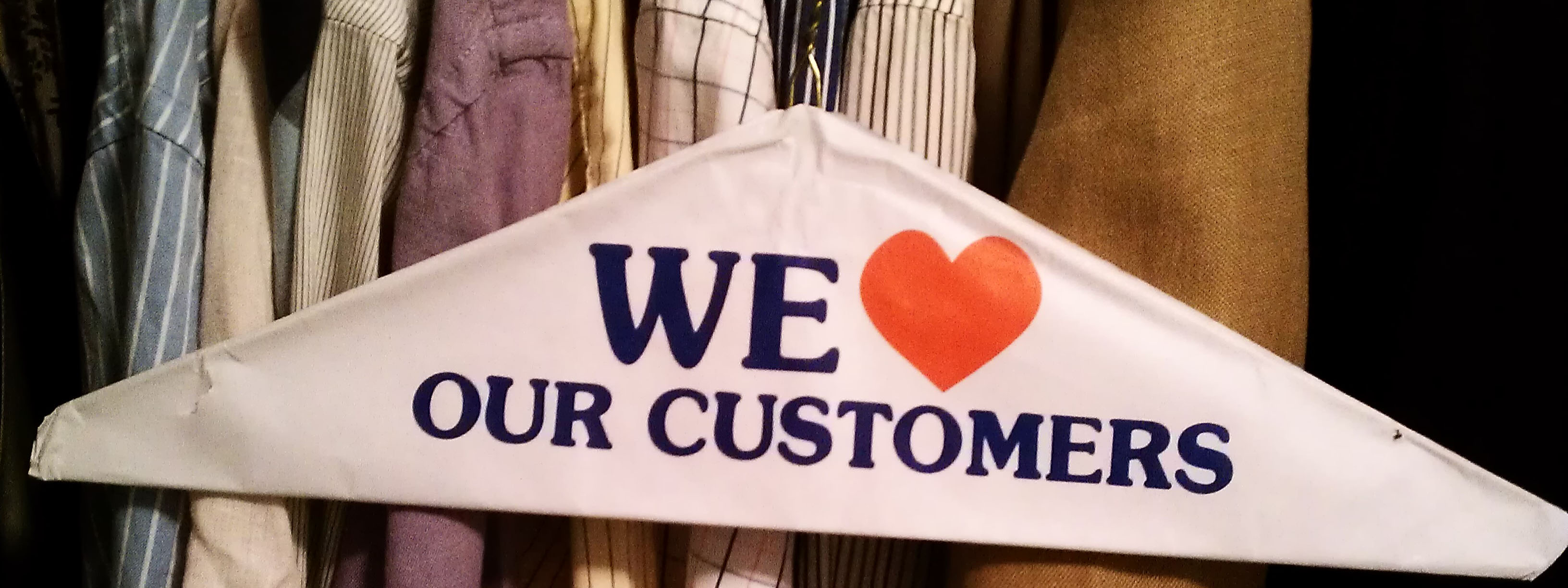 Be Thankful for Your Customers
