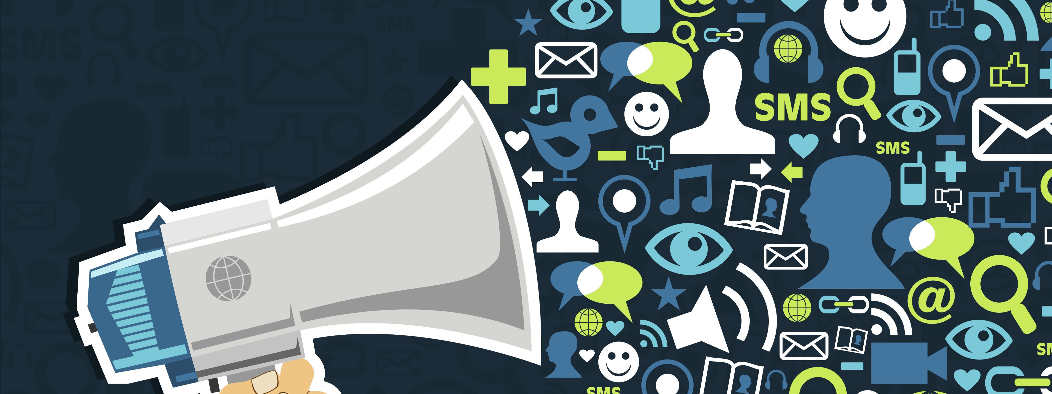 social media megaphone