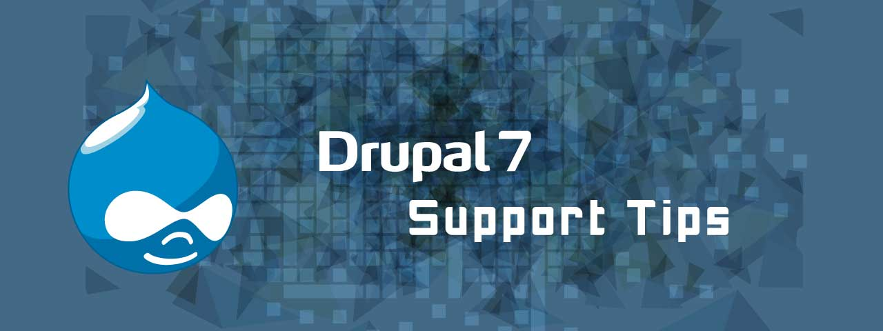 Drupal 7 FAQ
