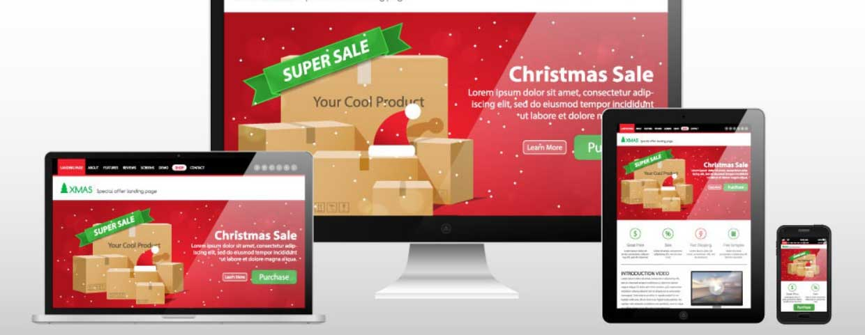 example of inbound marketing campaign collateral across devices