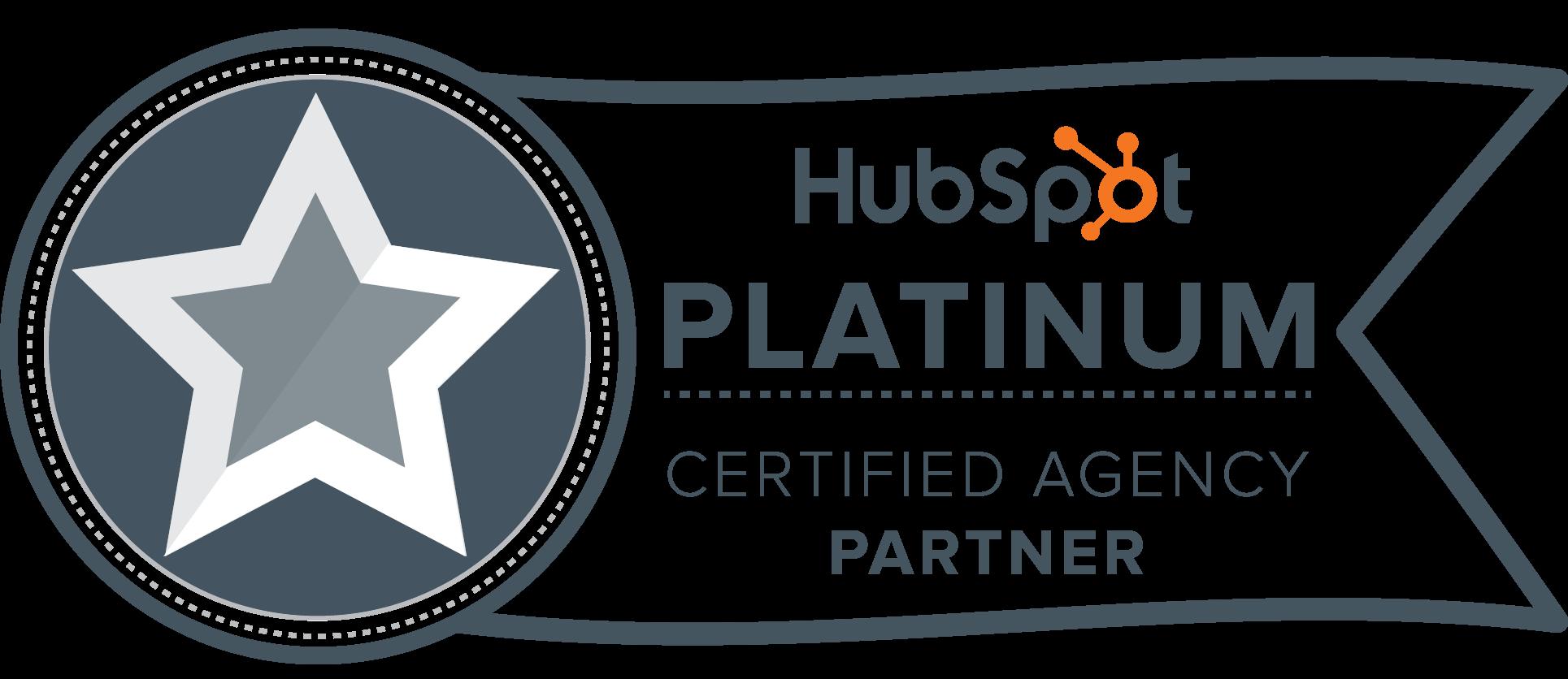 HubSpot Platinum Agency Partner