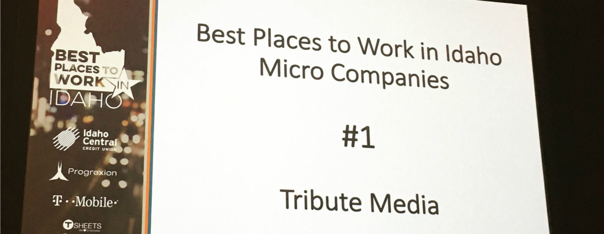 Best Places to Work in Idaho first place