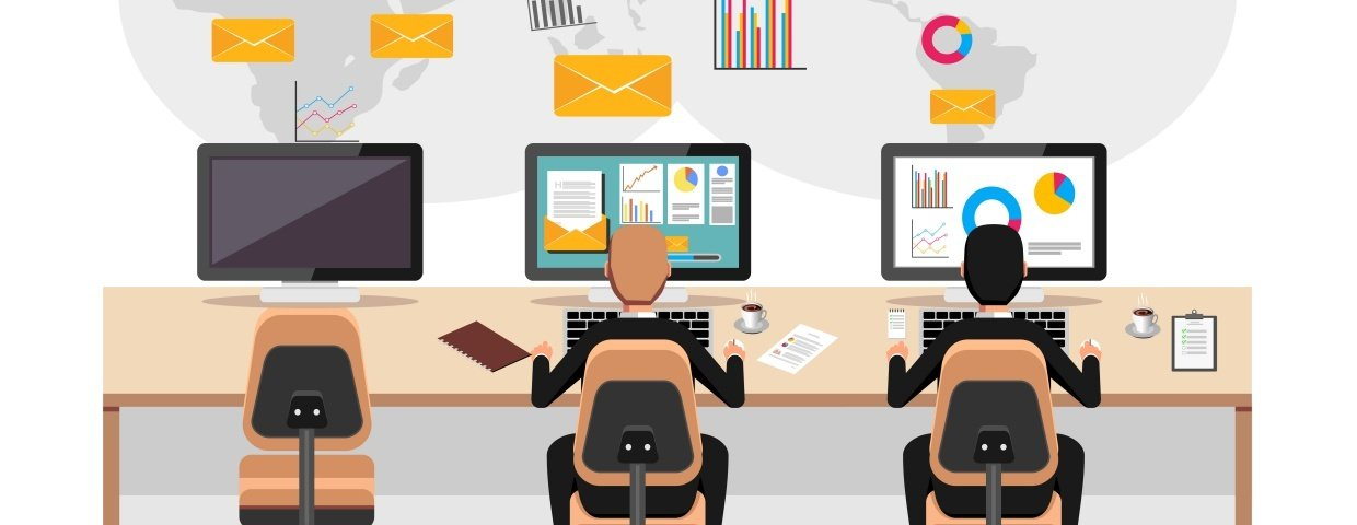 marketers analyzing email deliverability