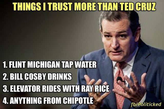 Ted Cruz Trust Meme