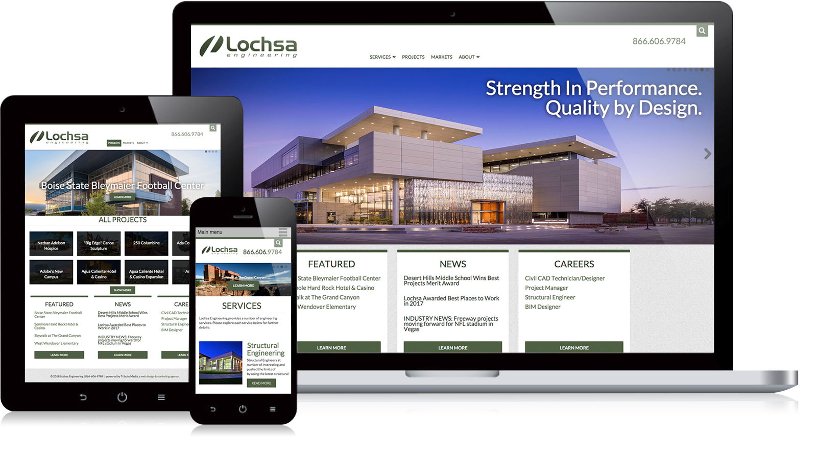 Lochsa Engineering website
