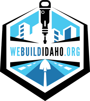 We Build Idaho logo