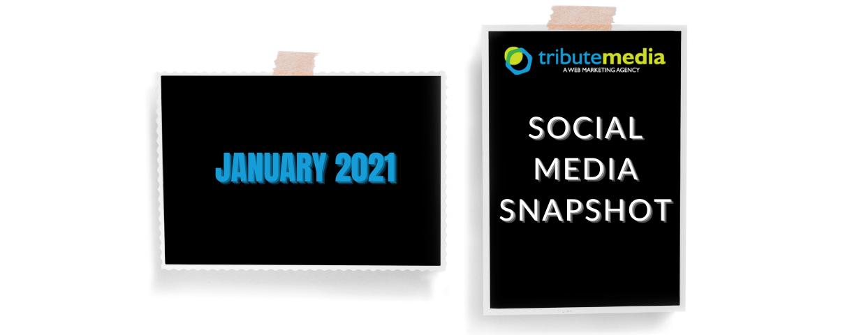 January 2021 social media updates