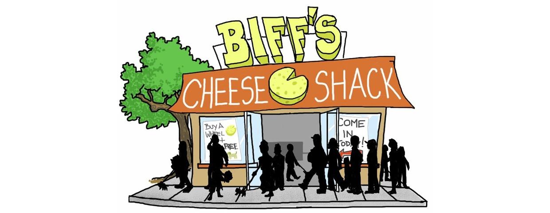 Biff's Cheese Shack storefront