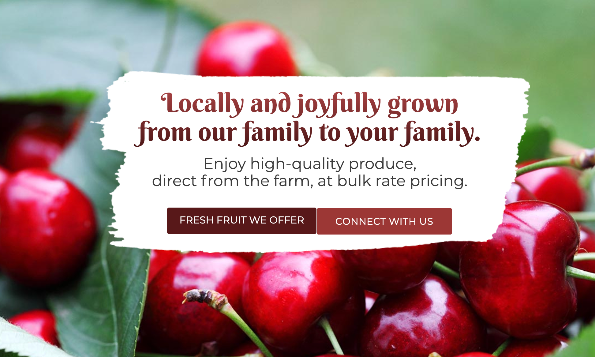 Poole Family Farms Homepage Hero Banner