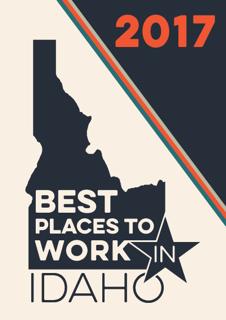 Winner Best places to work in Idaho