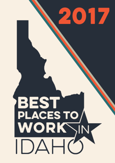 Winner Best places to work in Idaho