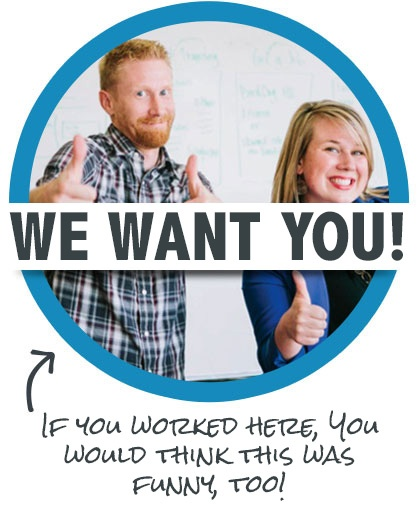 We Want You careers