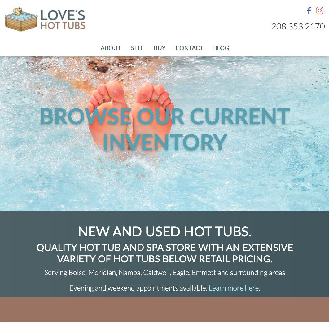 Love's Hot Tubs